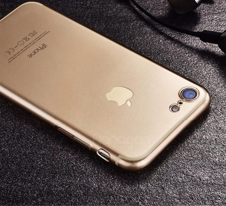 Iphone 7 7 Plus 8 8 Plus Husa Ultra Slim 0.3mm Din Silicon Transparent