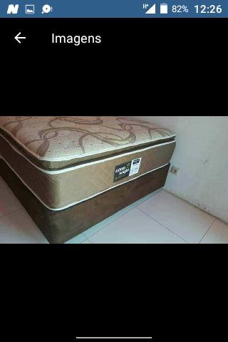 Camas medicinas de molas Quenn colchão pillow top. Inclui transporte