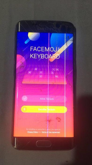 Samsung Galaxy S6 EDGE Gold 32Gigas original. Usado Viana - imagem 1