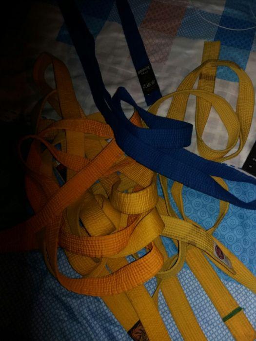 Cinturão para Karate/ Taekwondo todas cores