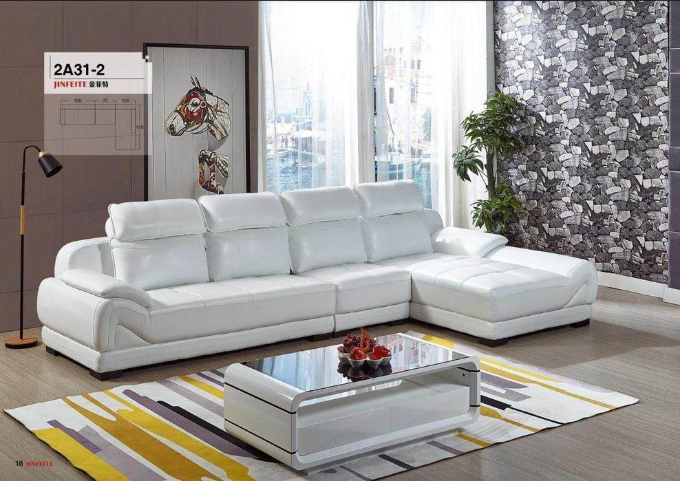 Sofa L em couro familiar de 4 lugar o preço já inclui entrega ao domi