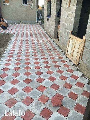 Укладка брусчатки,тротуарных плиток