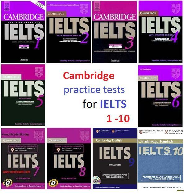 Продам доступ к книгам по подготовке к IELTS