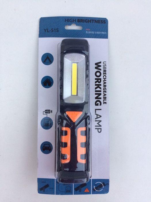Lampa auto portabilă lanterna cu magnet acumulator si led