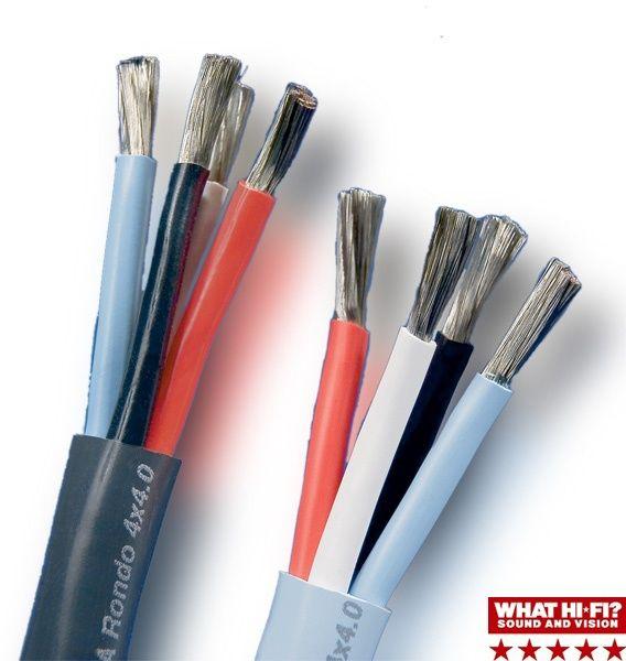 Cabluri de boxe Supra Cables Rondo 4x2.5 / 4x4.0 , Made in Sweden