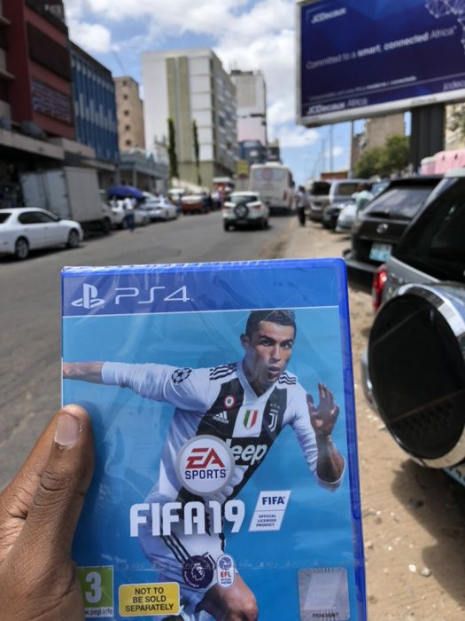 FIFA 19 para ps4 selado