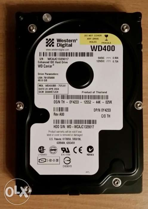 HDD 40Gb ide