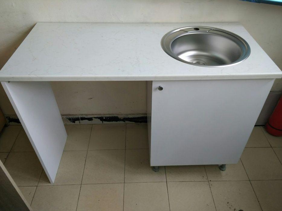 Кухненска шкаф мивка с място за пералня част от кухня Кухни по поръчка