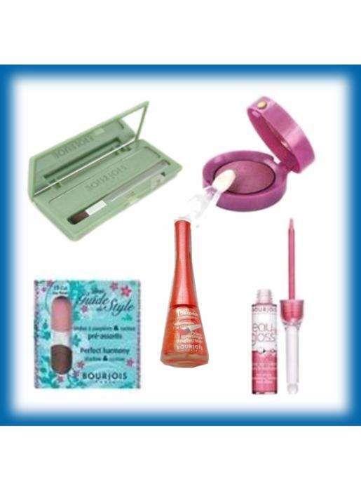 Set 5 produse Lot cosmetice Bourjois Gloss Farduri Ochi Oja