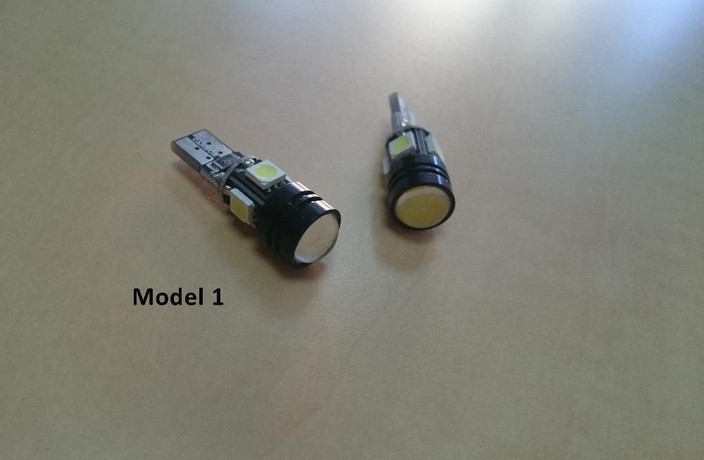 Bec LED auto cu canbus T10 W5W - mai multe modele