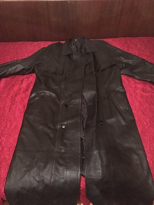 палто естествена кожа унисекс