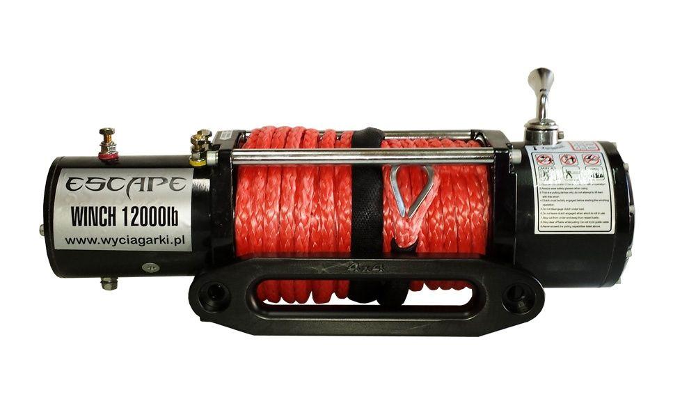 Troliu OFF-ROAD Escape EVO - 12000 lbs (5443kg)-Funie Sintetica