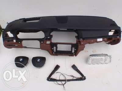 Bmw f10 kit airbag plansa bord airbag sofer airbag pasager centuri