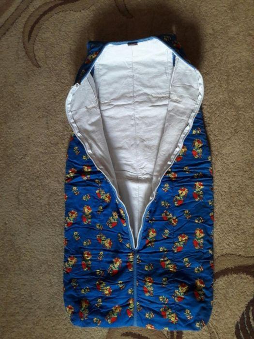 vând sac de dormit (pentru copil) + păturică