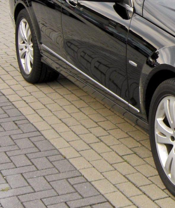 Прагове под вратите за Mercedes C-class W-204 AVANTGARDE комби