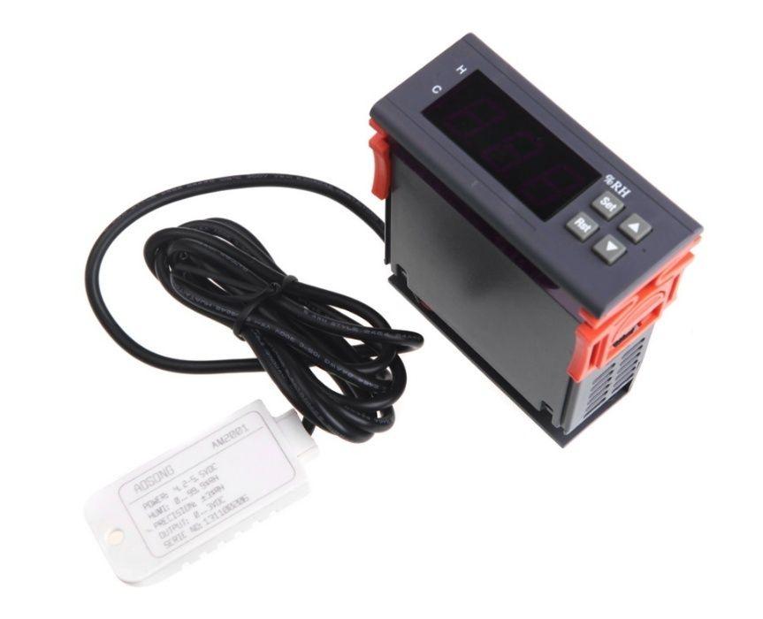Controller digital pentru controlul umiditatii, senzor umiditate, 220V