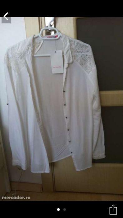 Vând (NU SCHIMB) camasa albă reserved, mărimea s, noua cu eticheta, mo