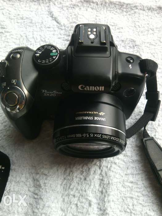 Canon PowerShot SX20 IS, 12.1 MP