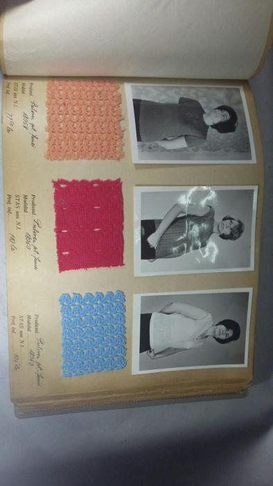 Clasor croitorie din 1967 vechi colecție machete
