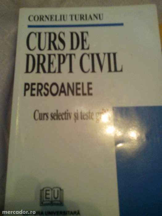 drept civil persoanele