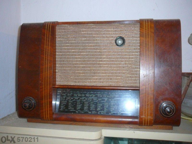 ретро радиоприемник Рфт -супер,тип 5е63 Укв