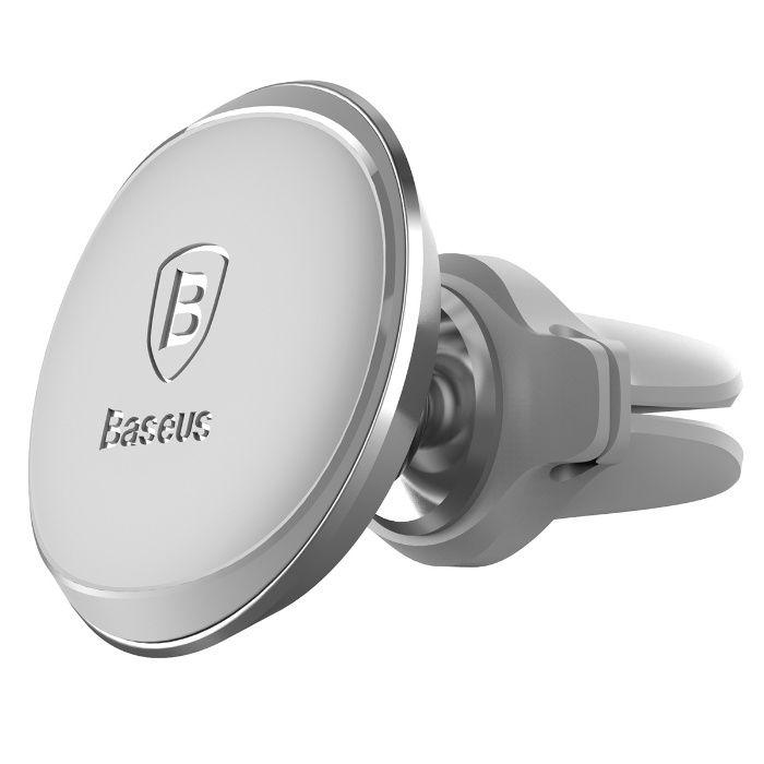 360 магнитна стойка BASEUS за телефон в колата, Сив цвят