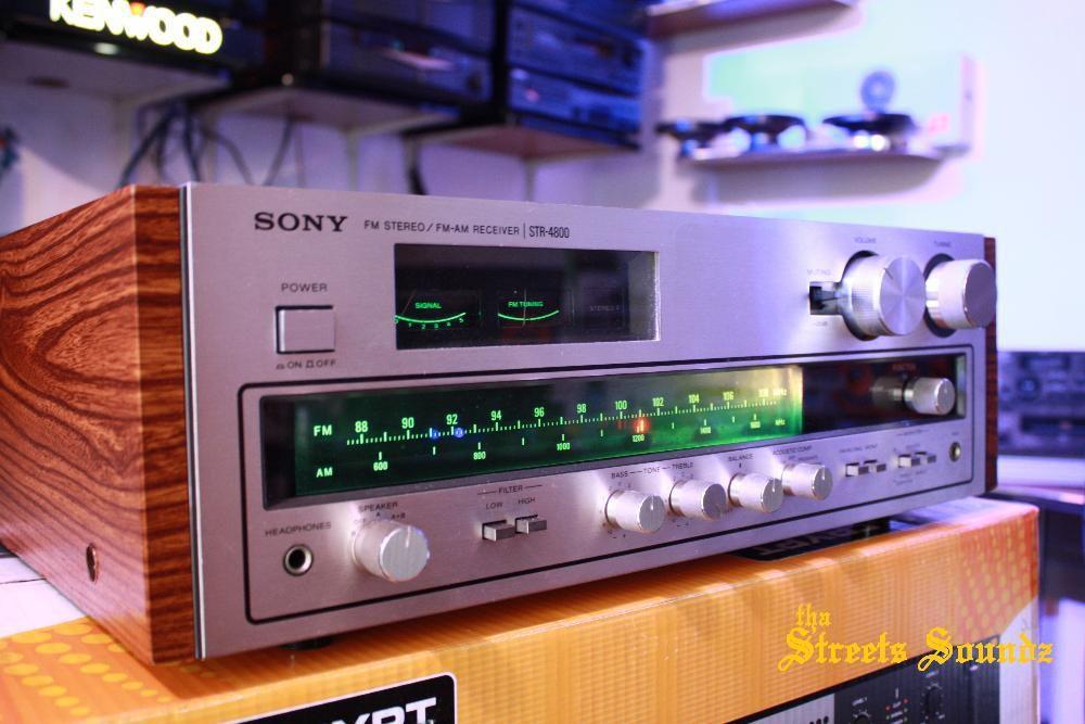 Amplificator SONY STR-4800 amplituner vintage receiver