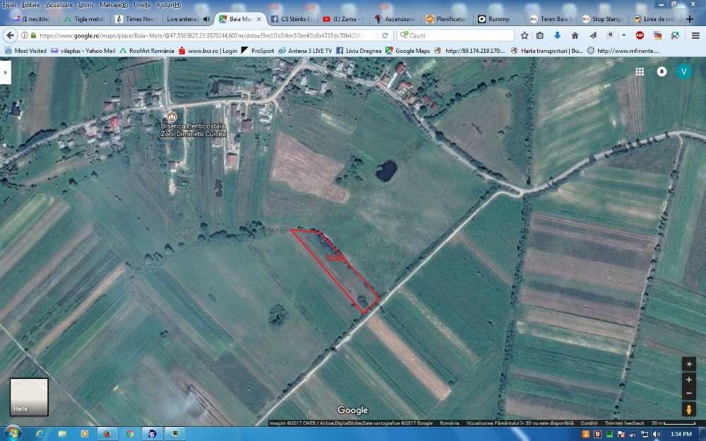 Vanzare  terenuri agricol  3200 mp Maramures, Culcea  - 290 EURO
