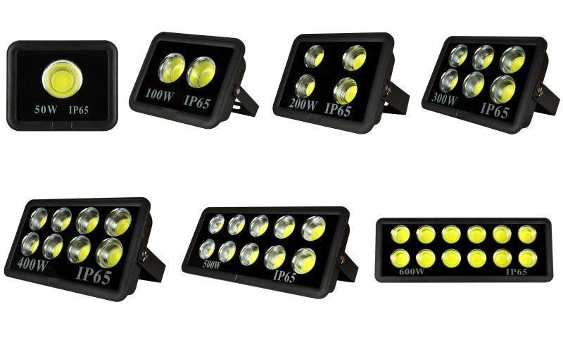 LED Прожекторы нового поколения СОВ супер яркие РАЗНЫЕ от 50 до 600W