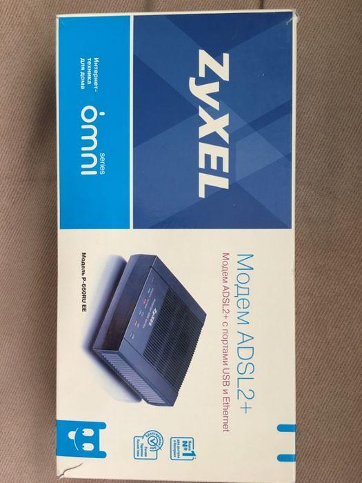 Продаю модем ADSL2+ с портами USB и Ethernet ZyXEL