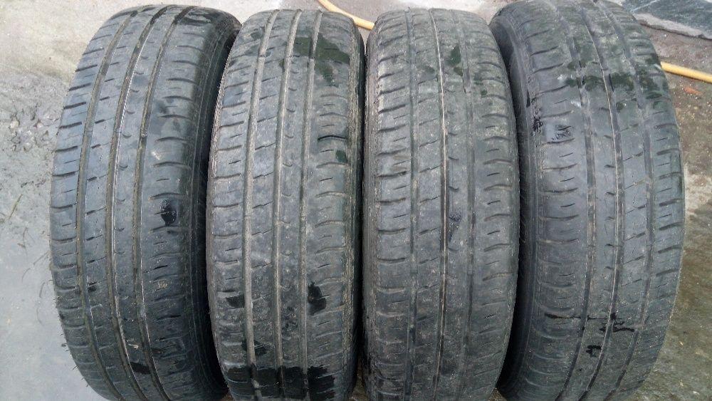 4 бр летни гуми дънлоп 2012 г / 165-65-15 / 5.5 мм грайфер