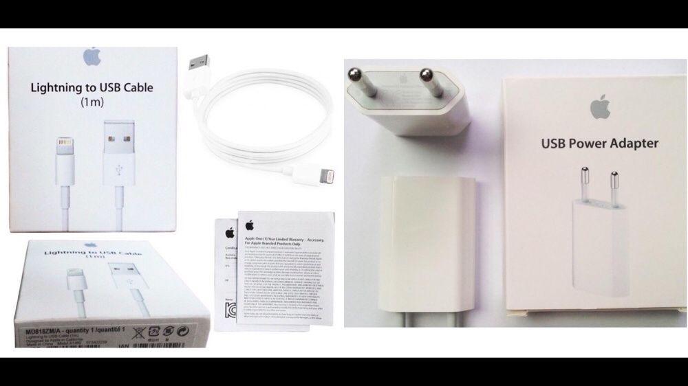 Cablu / cabluri incarcator adaptor priza iPhone 6/6s/7/7 Plus/8/X
