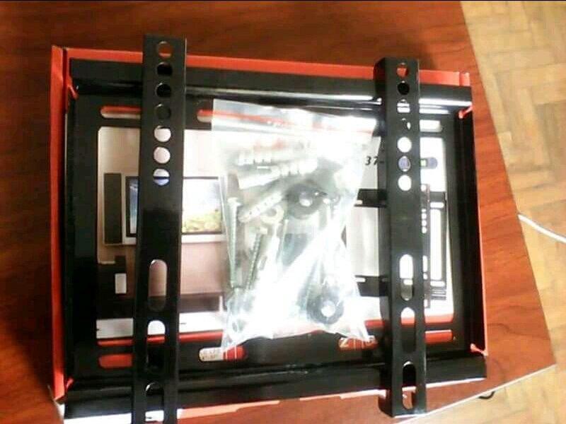 Suportes para tv plasma novo na caixa