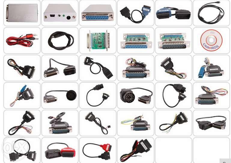 CarProg v8.21 online функции/ 10.93 + пълен комплект адаптери гр. Ямбол - image 1