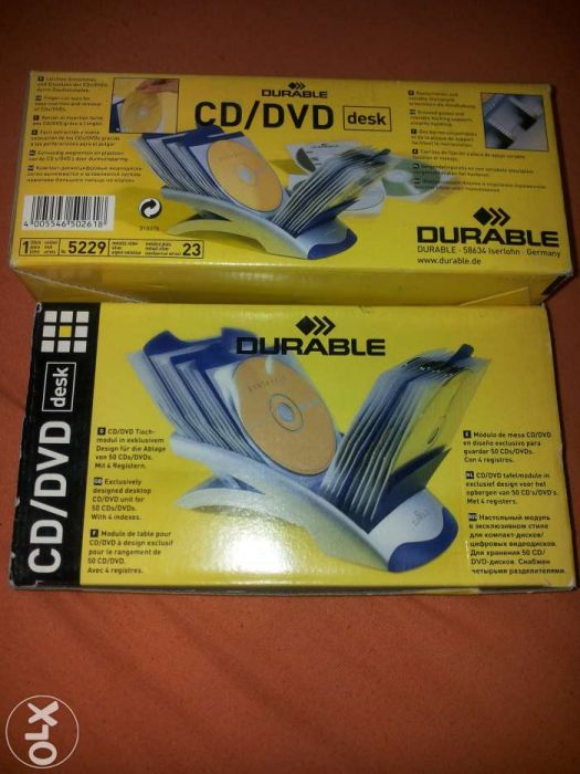 Durable CD/DVD desk, suport CD de birou