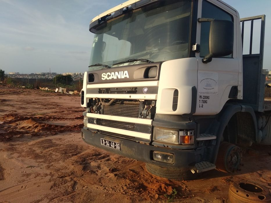 Scania caixa fixa com problemas nos condutores