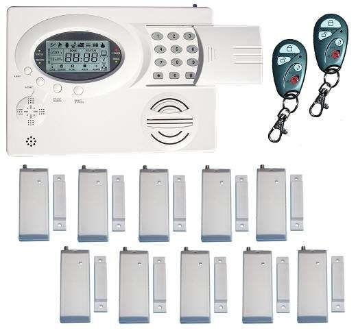 kit completo de alarme residencial com alerta por sms e chamadas