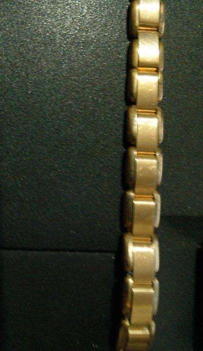 bratara ceas dama,placata tip Double marcata,Germania anii 60,12cm/8mm