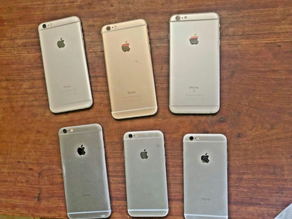 iPhone 6s, 6Plus, 6s Plus locked ID para aproveitar LCD Base e bateria