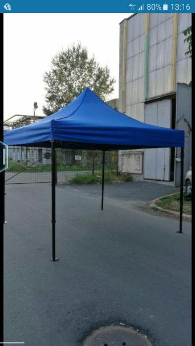 Pavilion Cort foișor pliabil 3m x 3m ( alb,verde,rosu,albastru) !!!