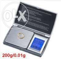 Cantar bijuterii de precizie cu touch,2zecimale 0,01-200gr(Nou)
