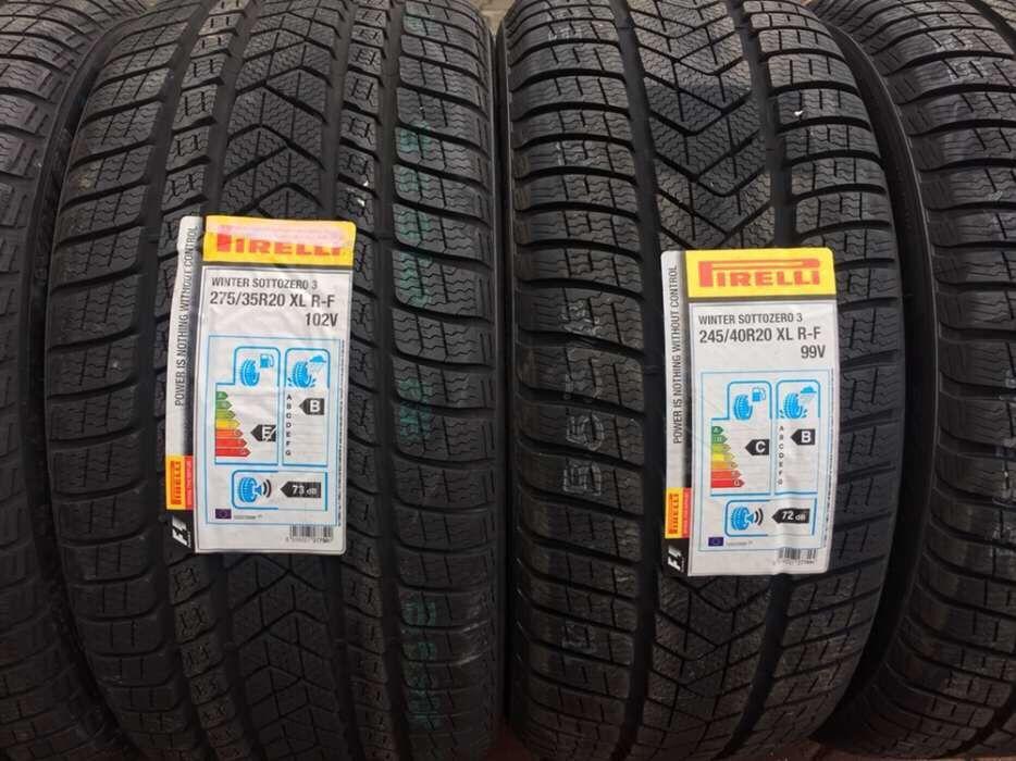 Set anvelope iarna RUNFLAT Mercedes S Klasse / CLS 275/35/20 245/40/20