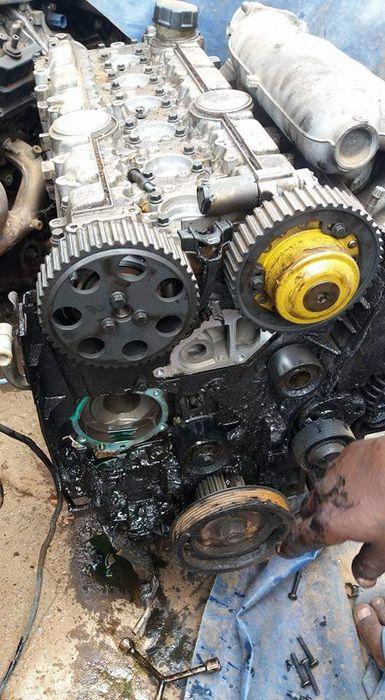 Motor de volvo s80 6cilindros avenda em peças