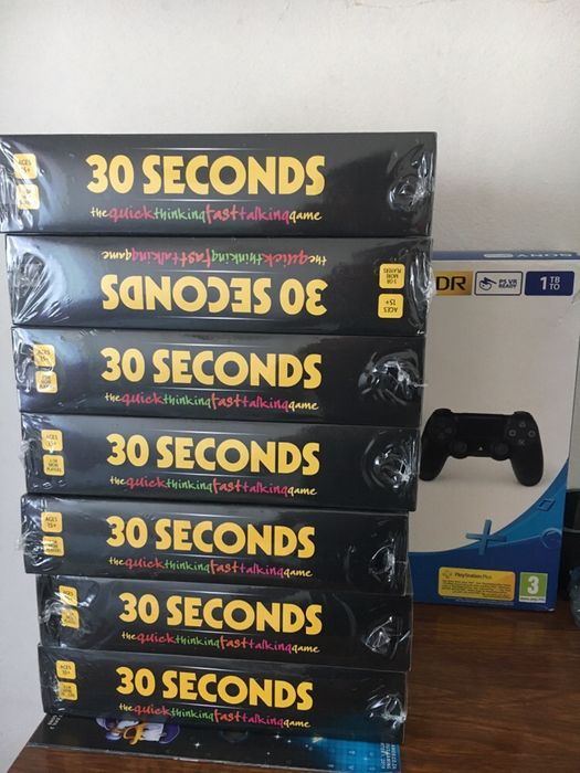 30 segundos novos selados