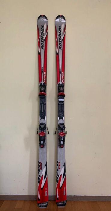 Ски с автомати Rossignol в отлизчно състояние след използване+сервиз!