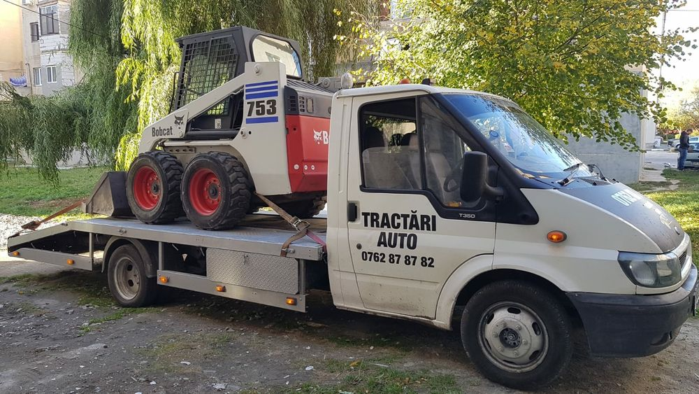 Tractari auto/Platforma, transport utilaje NON STOP