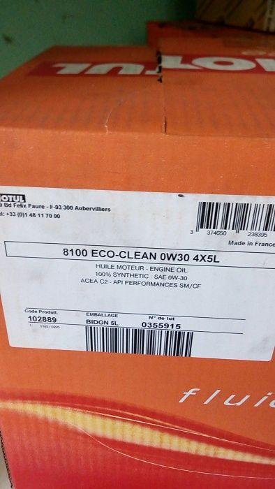 Масло моторное Motul SAE0W-30 8100 Eco-clean