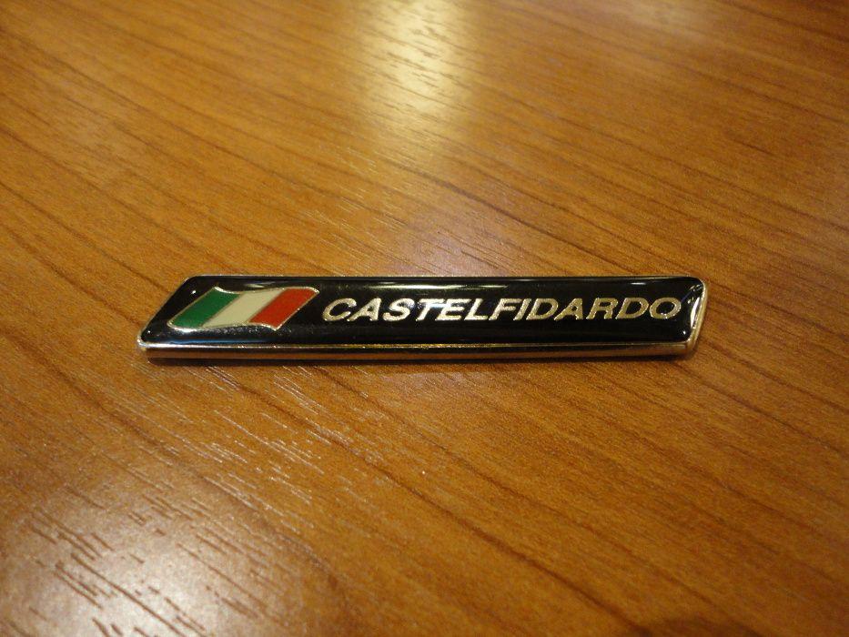 Emblema Acordeon scris Castelfidardo