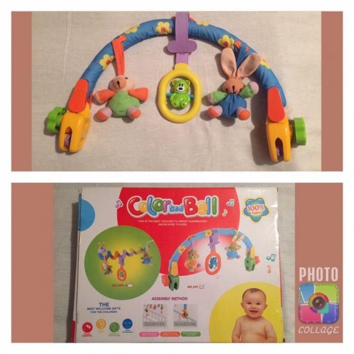 Играчки за бебе дрънкалки, гризалки, книжки за баня