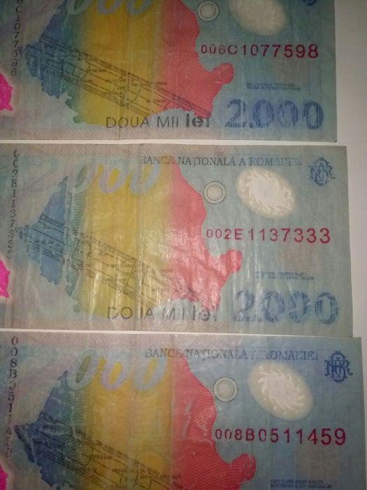 Vand bancnote cu eclipsa si bani vechi